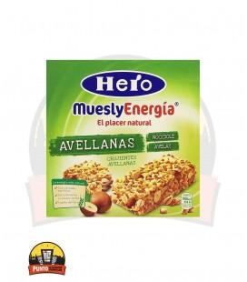 Barrita Hero Muesly Avellanas 12UDSx25GR