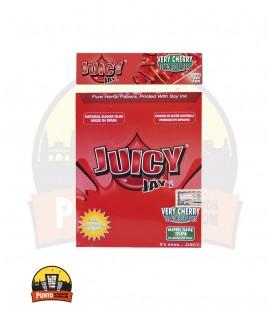 Papel de fumar de cáñamo y fresa  JUICY JAY 24UDS