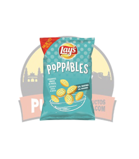 Lay's Poppables Sal Marina 25 GR  25UDS.