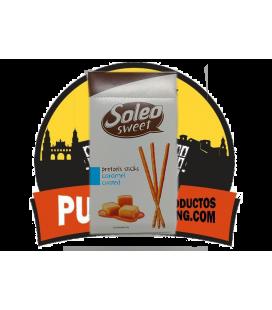 Soleo Palitos Caramelo 50 GR 14 UNDS