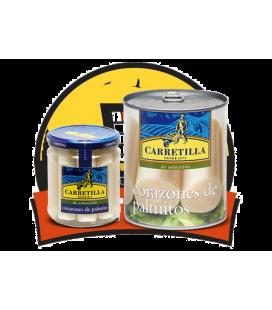 Carretilla  Palmito 6 uds (Fco. 1/2 K )