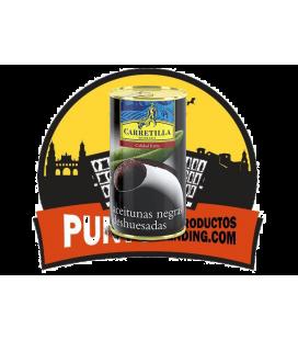 Carretilla  Aceitunas Negras Deshuesadas 12 uds de 1/2 KG