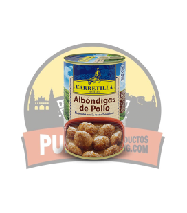 Carretilla Albóndigas de Pollo 12 UDS de 415 GR ( Sin Gluten )