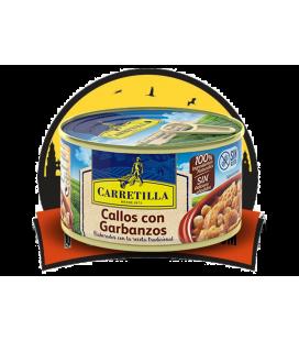 Carretilla Callos con Garbanzos Lata 12 uds de 370 GR
