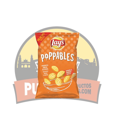 Lays Poppables Queso 31G 25UDS.