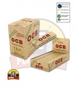 Papel de fumar OCB orgánico 100 UNDS