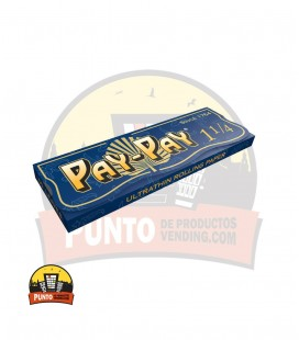 Papel de fumar PAY-PAY 1 1/4 100UNDS