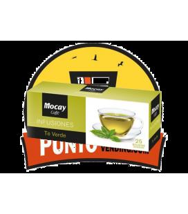 Mocay Infusión Té Verde  - 100 Bolsitas de 1,8 GR