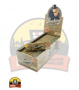 Papel de fumar SMOCKING Orgánico 78MM 100UNDS