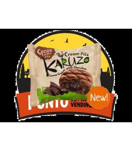 Karuzo  Cream Pita Cacao Relleno Chocolate 24 UDS de 62 GR