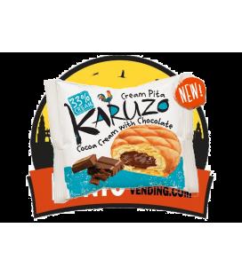 Karuzo Cream Pita Relleno de Cacao 24 UDS de 62 GR