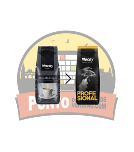 Café mocay vending 80% natural 1000g 1Unds