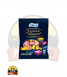 LICORICE ALLSORTS REGALIZ BOLSA 100G 14UNDS