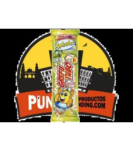 Grefutubo Snacks de Maíz Horneado 12 UDS de 105 GR  Sin Gluten,Sin Aceite de Palma ( Producto Tarificado )