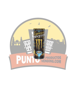 Monster Espresso  Vainilla 12 UDS de 250 ML
