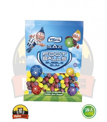 FOOTBALLS CHICLES 90G 14UNDS