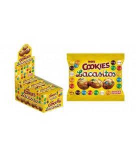 Mini Cookies Lacasitos 20UDS de 40GR