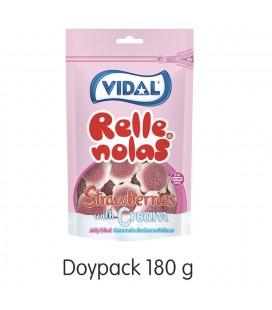 Doypack Rellenolas Freson con Nata Relleno 10UDS de 180GR