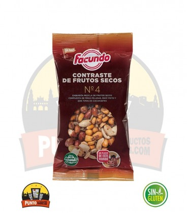 COCTEL FRUTOS SECOS 140G 15UNDS