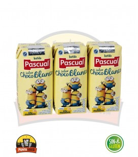 CHOCOLATE BLANCO SLIM PASCUAL 200ML 18UNDS