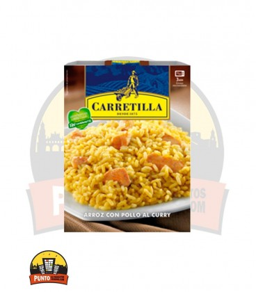 Arroz con Pollo al Curry 300G 10UNDS