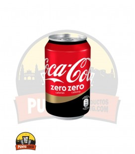 Coca Cola Zero Zero 330ML 24UNDS