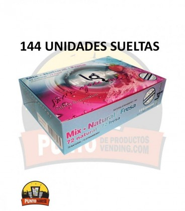 Preservativos IN LOVE Mix 144 UNDS