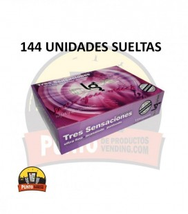 Preservativos IN LOVE Texturas 144 UNDS