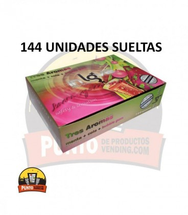 Preservativos IN LOVE Aromáticos 144 UNDS