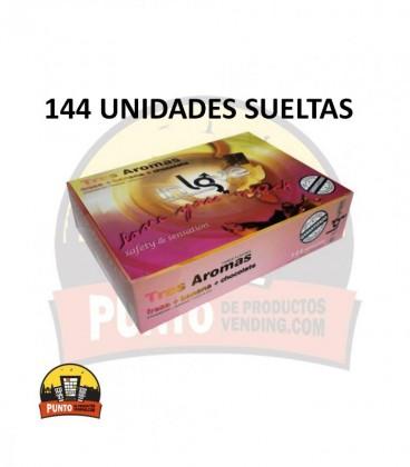 Preservativos IN LOVE Aromas 144 UNDS