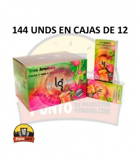 Preservativos IN LOVE Aromáticos 12x12x144 UNDS
