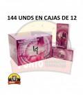 Preservativos IN LOVE Texturas 12x12x144 UNDS