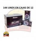 Preservativos IN LOVE Neón 12x12x144 UNDS