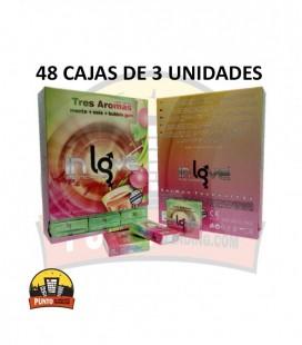 Preservativos IN LOVE Aromáticos 48x3x144 UNDS