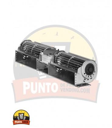 Ventilador Tangencial 240+240mm 230V 45W