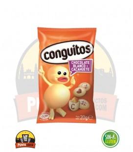 CONGUITOS BLANCOS 18G 24UNDS ( PANOPLIA )