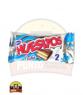 HUESITOS DOBLE LECHE VALOR 40G 18UNDS