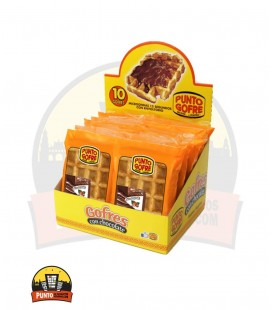 GOFRE CHOCOLATE PUNTO GOFRE 110G+30G 10UNDS