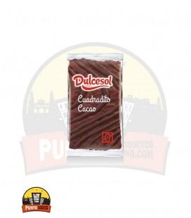 Cuadraditos nata al cacao DULCESOL 43GR 45UNDS