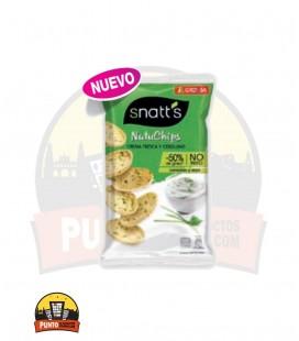NatuChips Crema Fresca y Cebollino 65GR 12UNDS