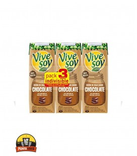 VIVESOY SOJA CHOCOLATE 250ML 3UNDS