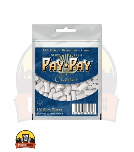 Filtros Pay-Pay Slim 6MM 40UNDS