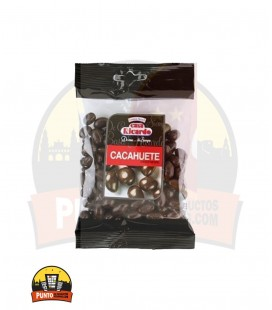 CACAHUETE CHOCOLATE NEGRO 100G 14UNDS