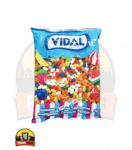GLAS FRUIT VIDAL 100G 14UNDS ( Jelly Beans )