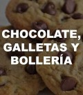 Chocolate, galletas y bollería