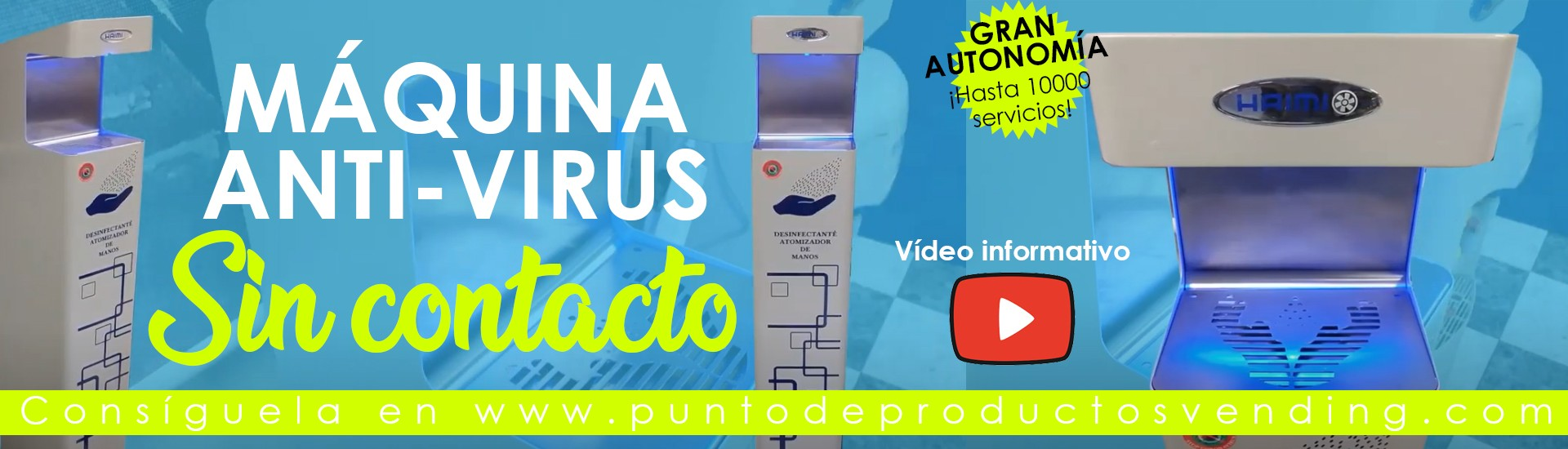 Nebulizador Desinfectante anti-virus para manos Personalizable